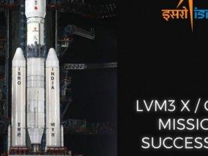 Hindistan, en büyük roketini uzaya yolladı