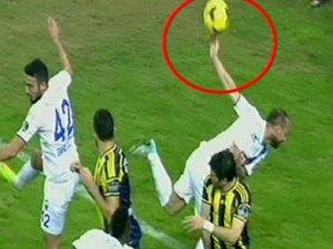 Erciyes'te penaltı isyanı