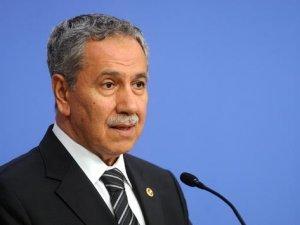 Bülent Arınç: Mısır ile ilişkiler düzelmeli