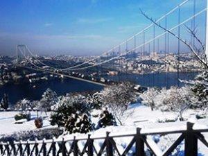 İstanbul'a kar geliyor! İstanbul'da kar yağışı