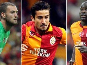 Galatasaray'da kadro değişikliği
