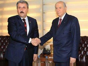 Sürpriz ittifak iddiası: MHP VE BBP birleşecek