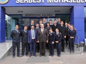 Meü Denizcilik Meslek Yüksekokulu Öğrencilerinden Smmmo'ya Ziyaret