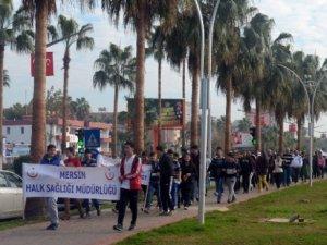 Mersin'de Sağlıklı Yaşam Yürüyüşleri
