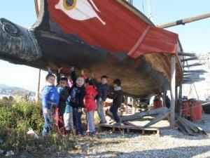Minik öğrencilerden kültürel yolculuk