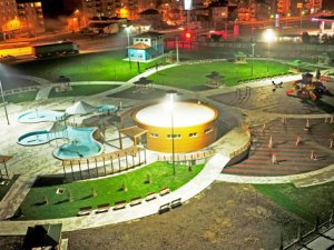 Piri Reis parkı ışıl ışıl oldu