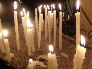 Hatay'da yaşayan Hristiyanlar dünya barışı için dua ettiler