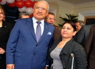Mersin'de Engelliler Daire Başkanlığı Hizmet Birimi açıldı