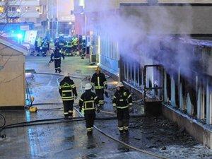 İsveç'te ikinci kez cami kundaklandı
