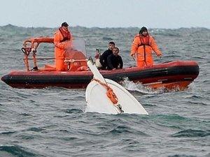 Bodrum'da kaçakları taşıyan tekne battı: 2 kişi kurtuldu