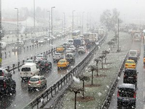 İstanbul kar yağışına hazırlanıyor