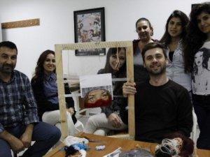 AÜ Güzel Sanatlar Fakültesi ödüllü sanatçı Fırat Neziroğlu'nu ağırladı