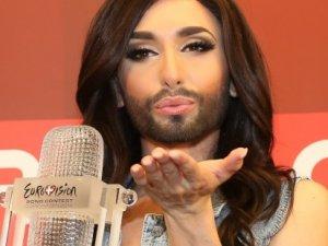 Eurovision birincisi Putin ile bir hafta geçirmek istiyor