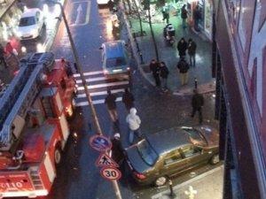 CHP'nin ilçe binası polis tarafından basıldı