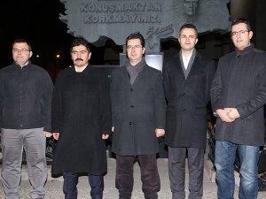 Erzurum'da 5 emniyet mensubu serbest