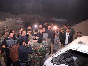 Beşar Esad, yeni yıla cephede girdi
