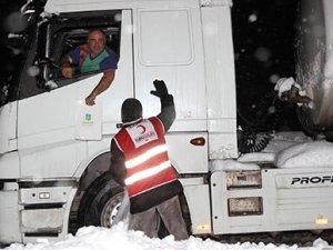 İstanbul- İzmir yolu 45 saat sonra açıldı