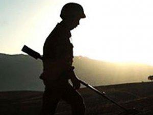 Suriye sınırında 1 asker şehit