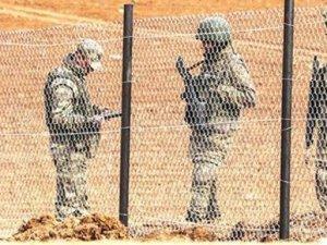 Suriye sınırında 1 astsubat kaçırıldı