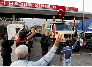 Üçüncü Peşmerge Birliği Türkiye'den geçecek