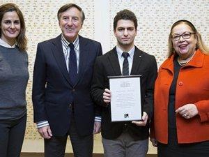 Kortrbasın genç yıldızına Aydın Gün Ödülü