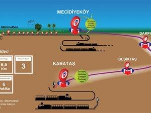 Kabataş-Mecidiyeköy metrosu için geri sayım