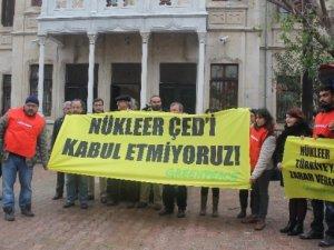 Mersin Greenpeace Akkuyu ÇED Raporu'nun iptali için dava açtı