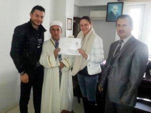 Ukraynalı İryna İslam'ı seçti