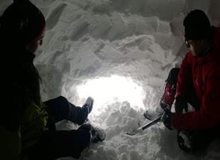 Tipiye yakalanan dağcılar Uludağ'da böyle hayatta kaldı