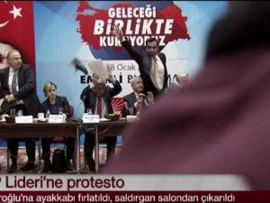 CHP Lideri Kemal Kılıçdaroğlu'na ayakkabı fırlatan saldırganın kimliği tespit edildi