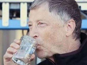 Bill Gates, insan dışkısı içti