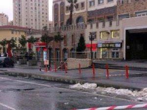 İstanbul'da AVM önünde bomba alarmı