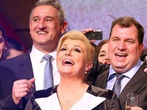 Hırvatistan'a ilk kadın cumhurbaşkanı