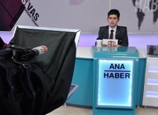 Gazeteci İsmail Güneş'in 11 yaşındaki oğlu haber sundu