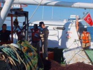 Sahil Güvenlik yasa dışı avcılığa izin vermiyor