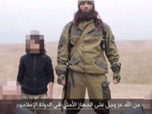 IŞiD'in yeni videosunda 10 yaşında çocuk var!