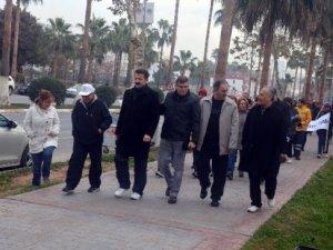 Mersin'de 'Sağlıklı Yaşam' yürüyüşleri devam ediyor