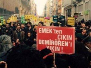 Emek Sineması için protesto