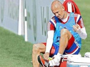 Robben şaka yapmış