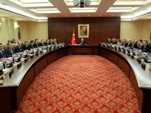 Bakanlar Kurulu, Cumhurbaşkanı Erdoğan'ın önderliğinde toplandı