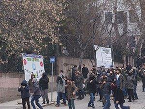Ankara Üniversitesi'nde Charlie Hebdo kavgası
