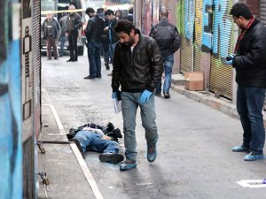 Beyoğlu'nda sivil polis öldürüldü