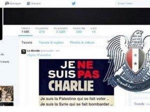 Le Monde gazetesinin Twitter hesabı hacklendi