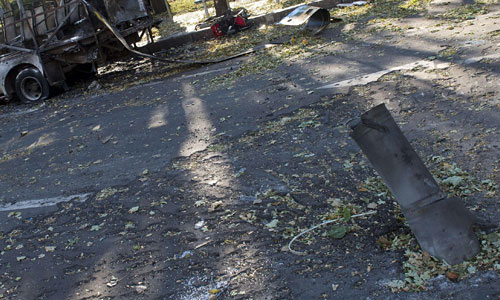 Durağa top mermisi düştü: 13 Ölü
