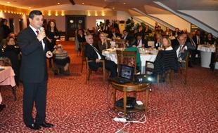 Anamur Belediye Başkanı Mehmet Türe, İstanbul'daki Anamurlularla proje değerlendirme toplantısı yaptı