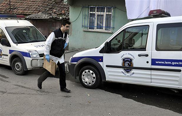 İstanbul'da bir gecekonduda mühimmat bulundu