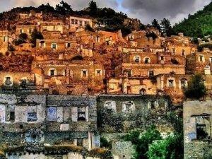 Tarihi Kayaköy'e otel projesi