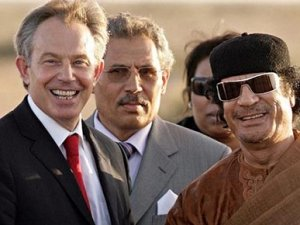 Tony Blair, Kaddafi'den özür dilemiş