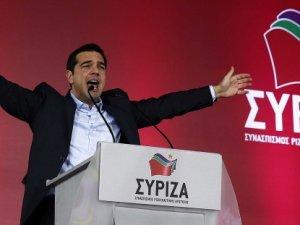 Yunanistan'da zafer Syriza'nın oldu