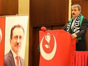 BBP Genel Başkanı Mustafa Destici'den ittifak açıklaması